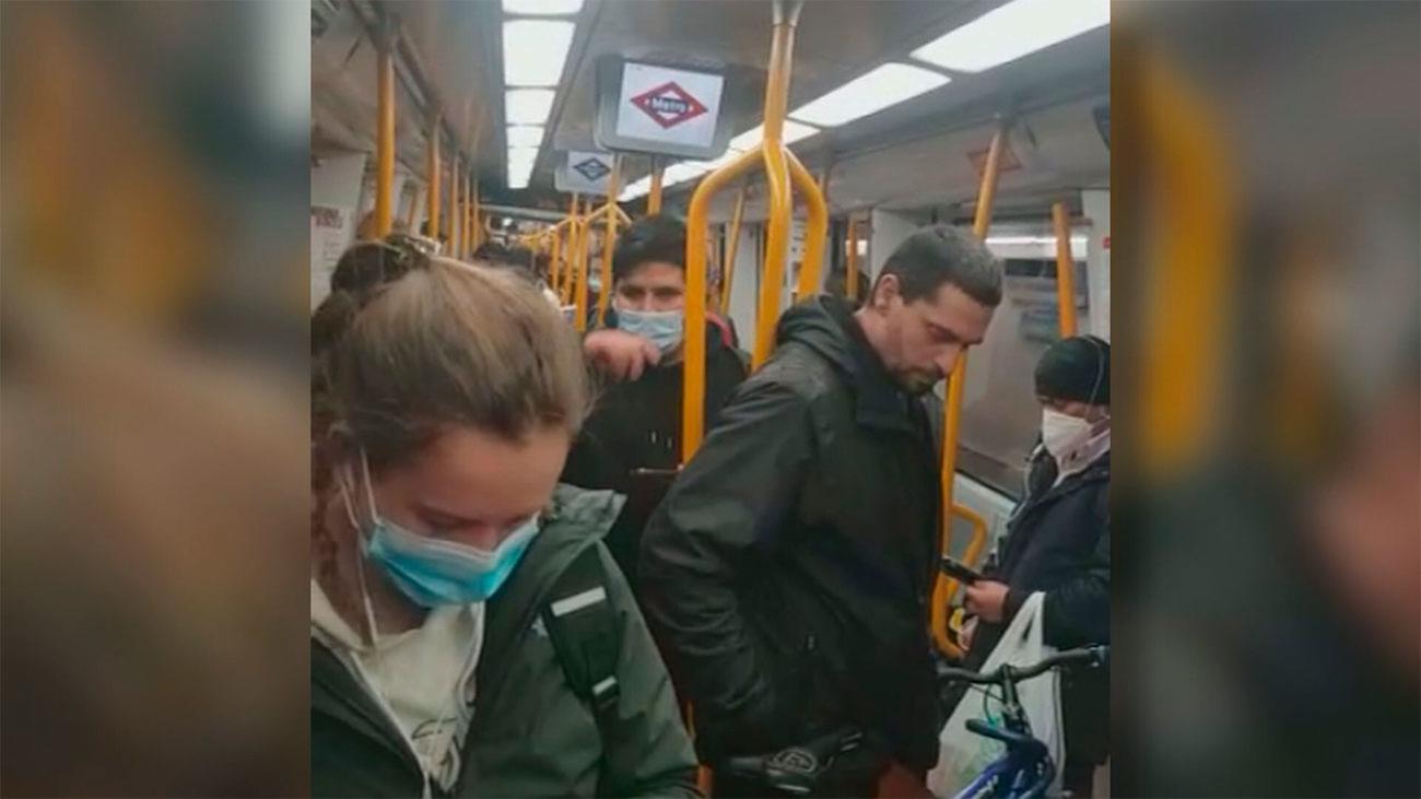 El transporte público de Madrid solo podrá acoger a 3 de cada 10 viajeros anteriores al Covid-19