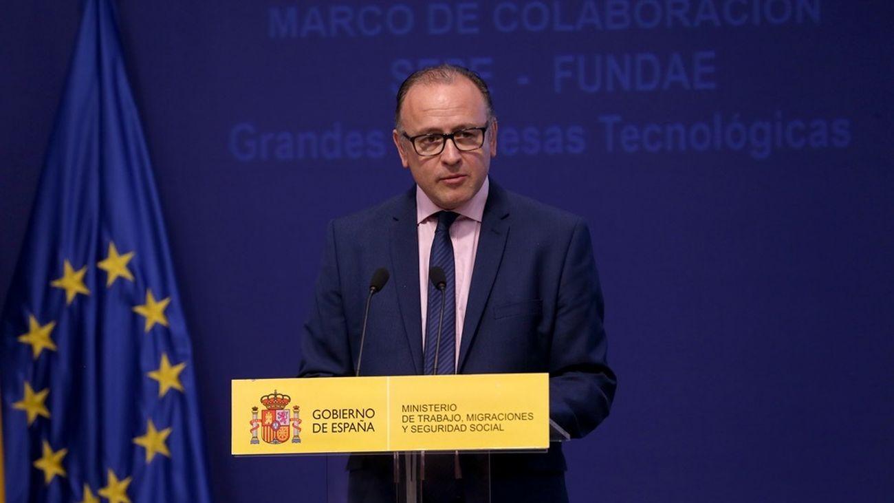 El Sepe pagará el paro entre el 2 y el 4 de mayo, según su director, Gerardo Gutiérrez