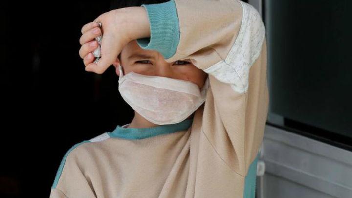 El coronavirus en Madrid desde la mirada de un niño
