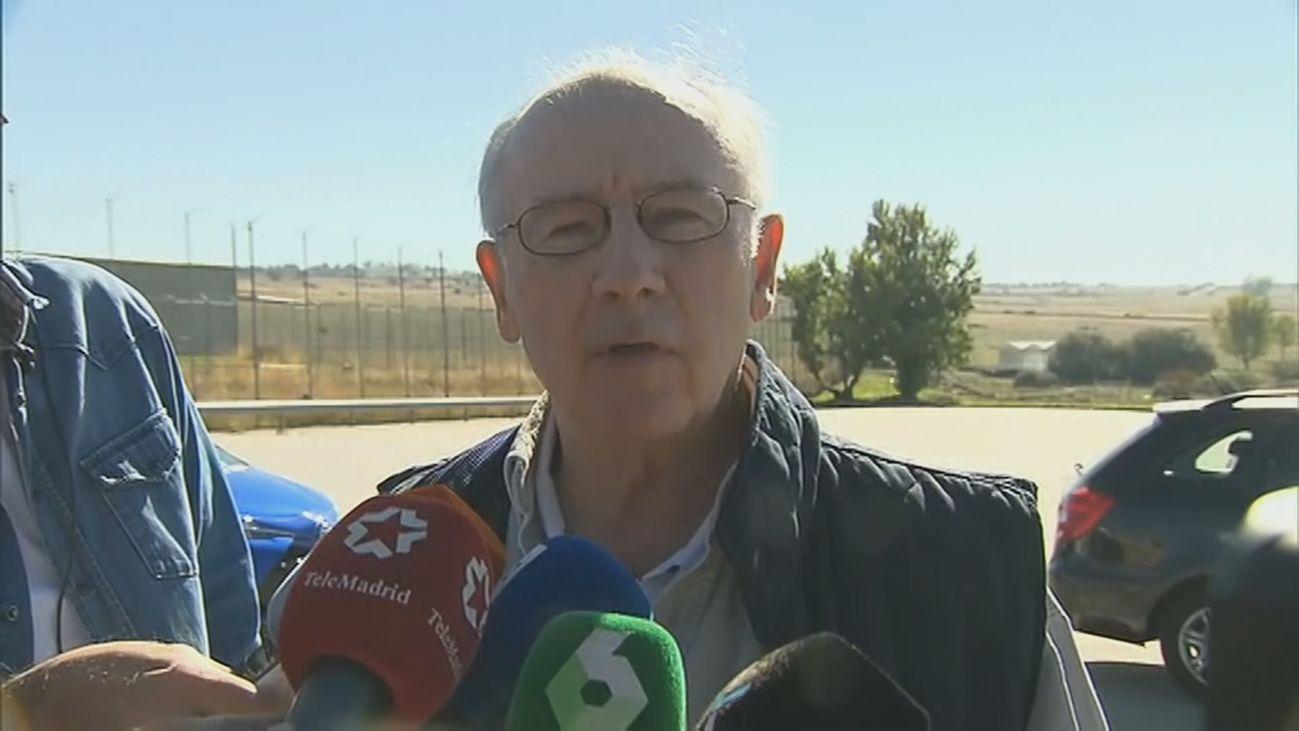 Rodrigo Rato cuando ingresó en el cárcel de Soto del Real