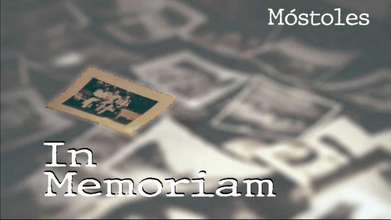 In Memoriam en la Web del Ayuntamiento de Móstoles