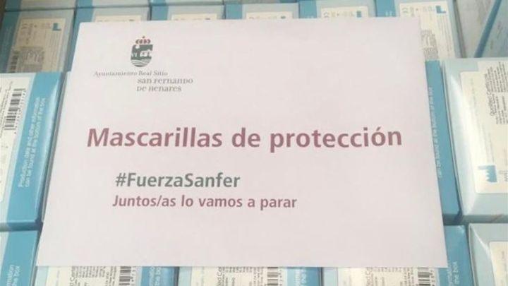 San Fernando de Henares reparte este fin de semana mascarillas a la población