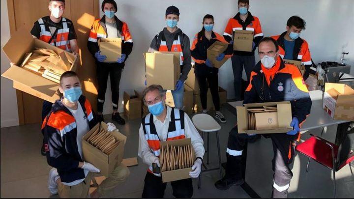 Paracuellos de Jarama comienza a repartir 100.000 mascarillas a los vecinos