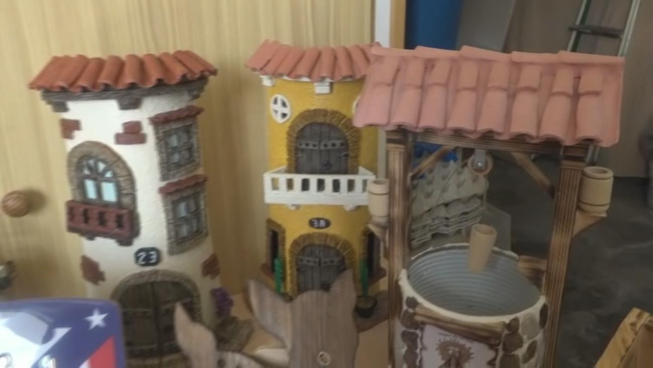 José, el 'artesano de madera' de Orusco de Tajuña