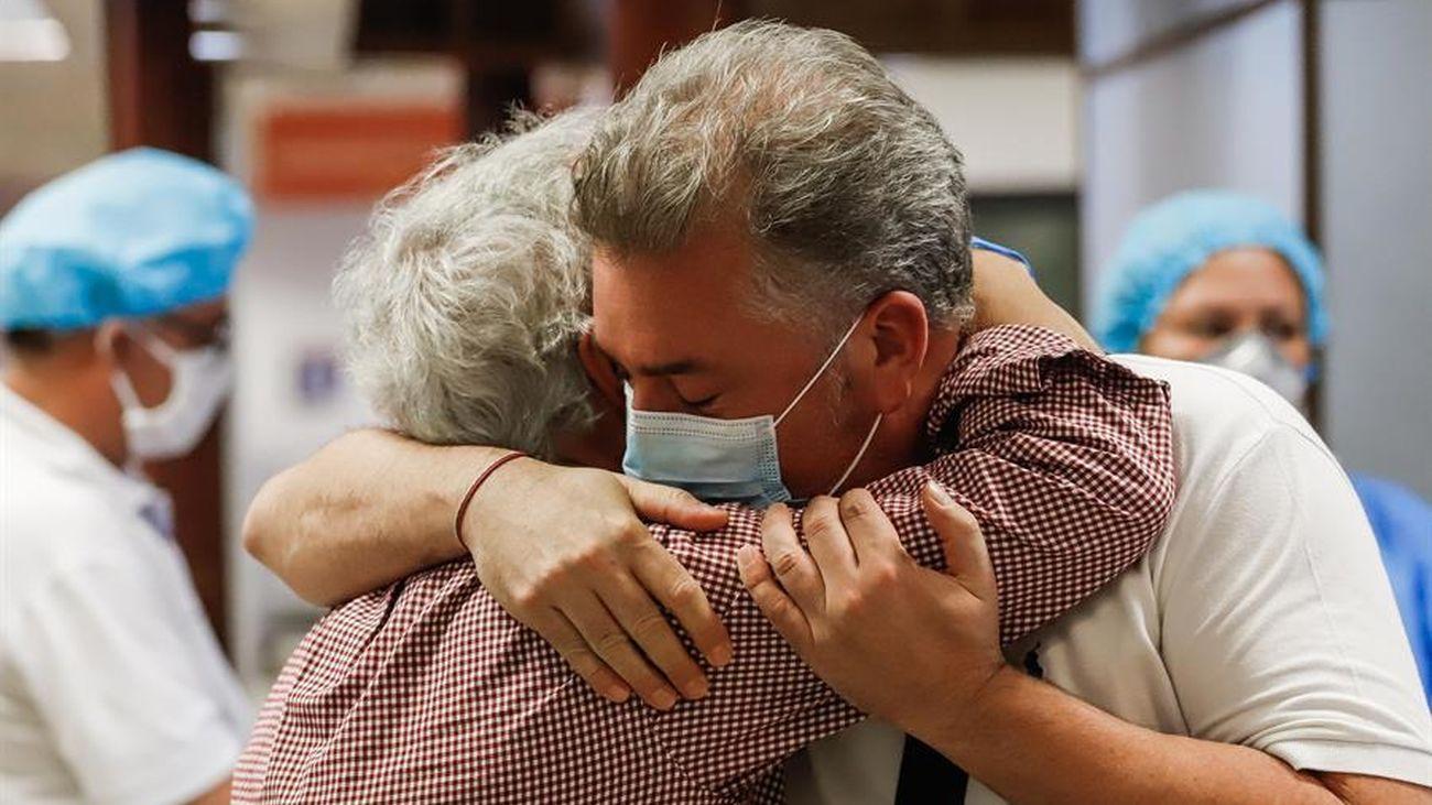 España sigue bajando la cifra de nuevos contagios de coronavirus
