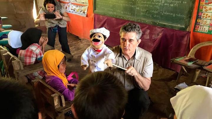 """Guillermo Fesser: """"'El monstruo invisible' llega para combatir el hambre"""""""