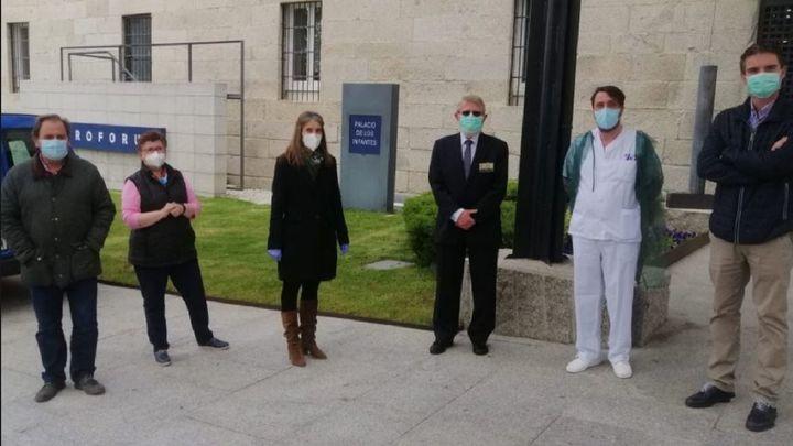El hotel medicalizado de San Lorenzo de El Escorial cierra tras atender a 140 pacientes