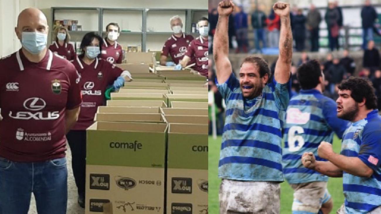 Alcobendas Rugby y Complutense Cisneros, volcados contra el coronavirus