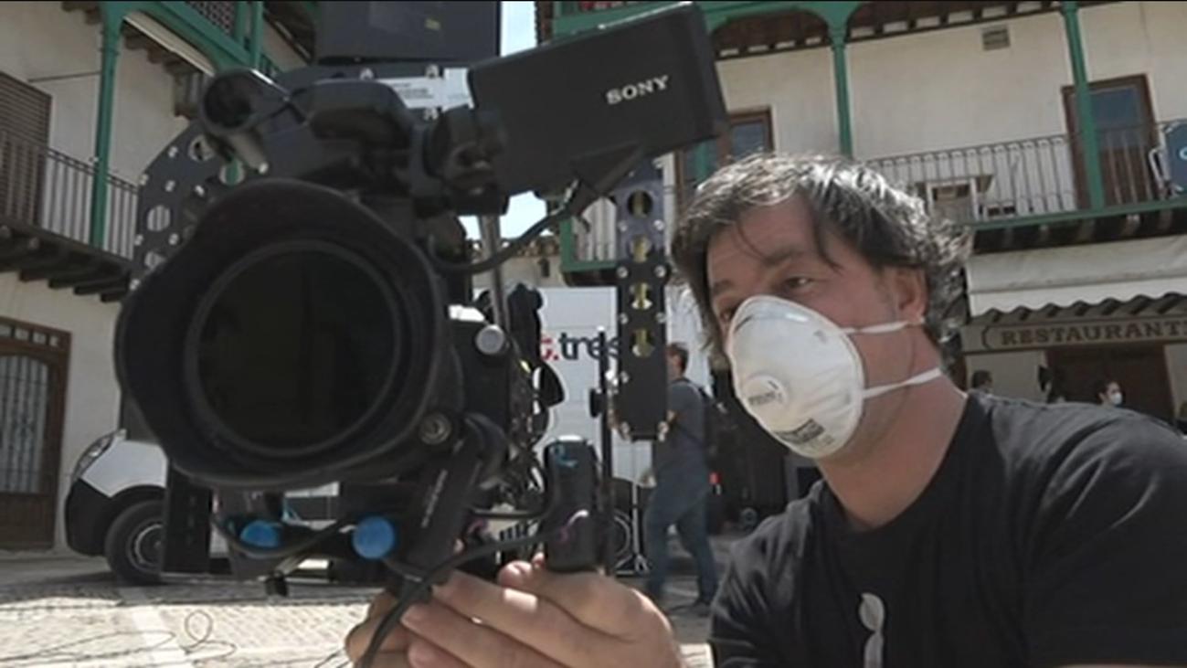 Nos colamos en el rodaje de 'Imagina Madrid', en Chinchón
