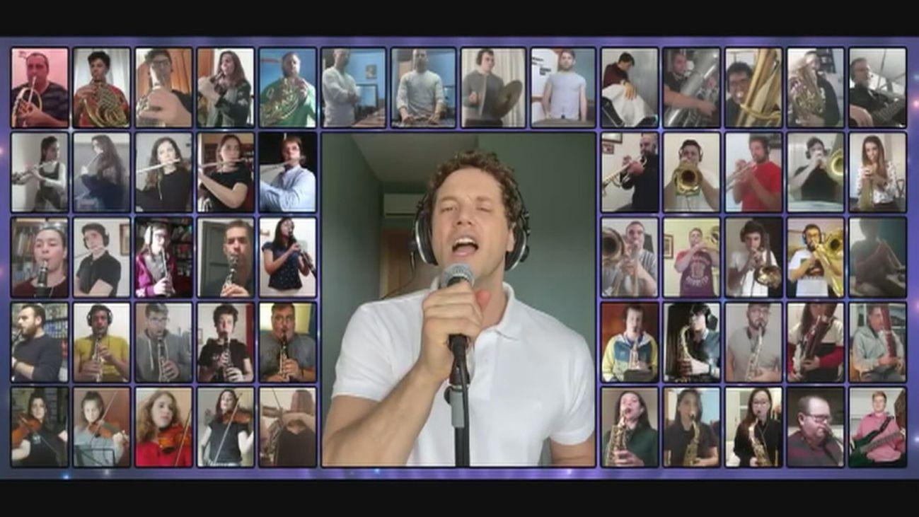 Emocionante recuerdo con Daniel Diges de su participación en Eurovisión hace 10 años