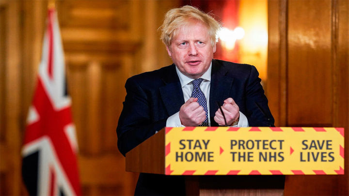 Johnson anuncia un confinamiento de un mes para Reino Unido