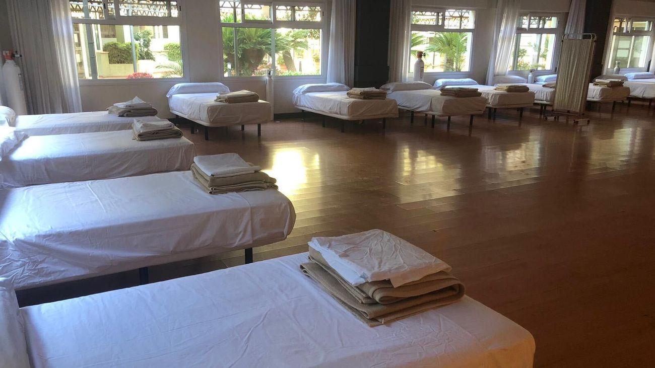 Siete De los 13 hoteles medicalizados empiezan a replegar su actividad en Madrid
