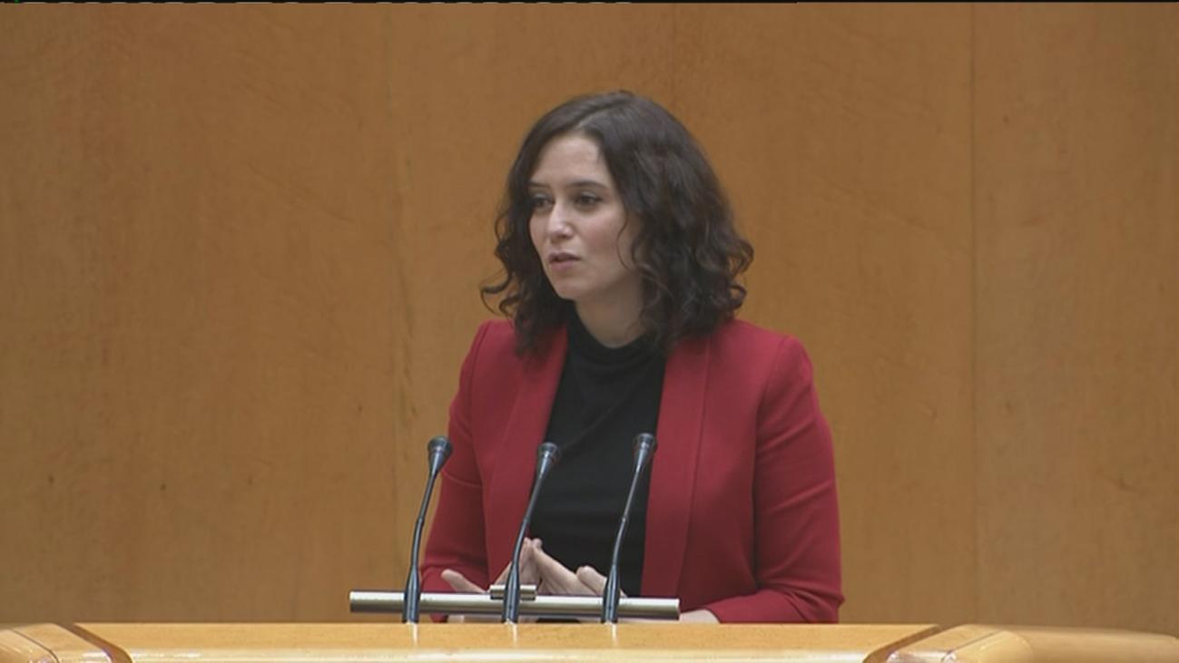"""Díaz Ayuso: """"Van a arruinarnos. Queremos planes concretos y una estrategia clara"""""""