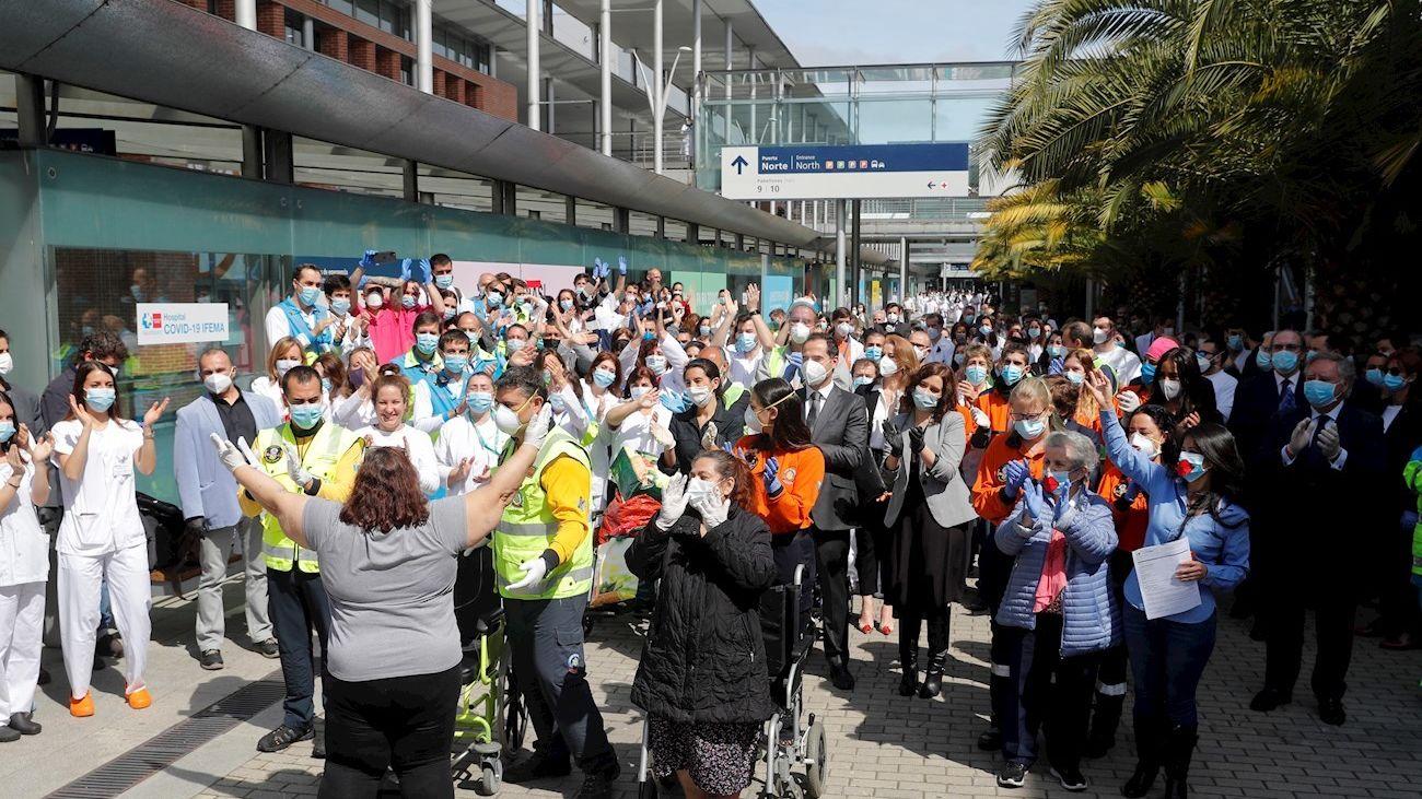 El hospital de Ifema cierra sus puertas tras cuarenta días en activo