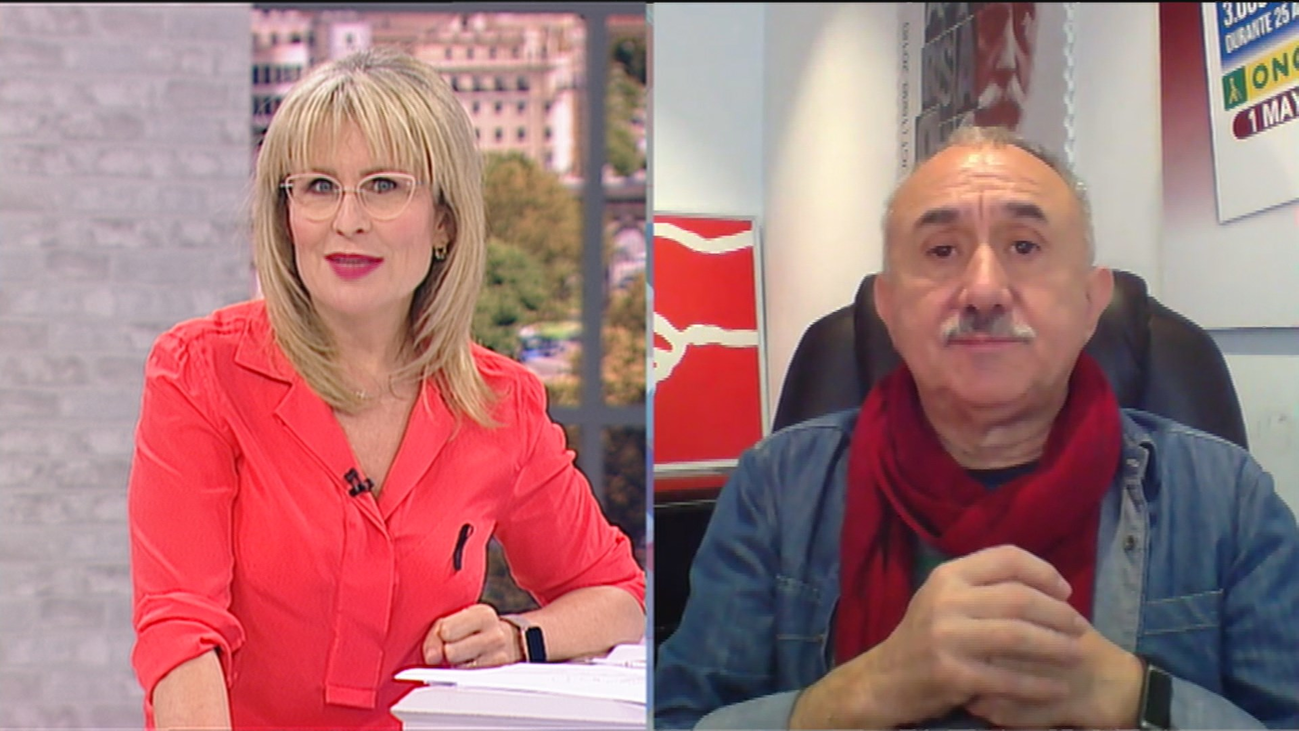 """Pepe Alvárez, secretario general de UGT: """"Es un 1 de mayo más cargado de reivindicaciones que nunca"""""""