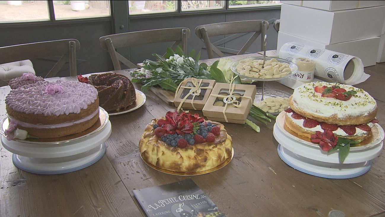 Mensajes dulces con las tartas a domicilio desde Cercedilla