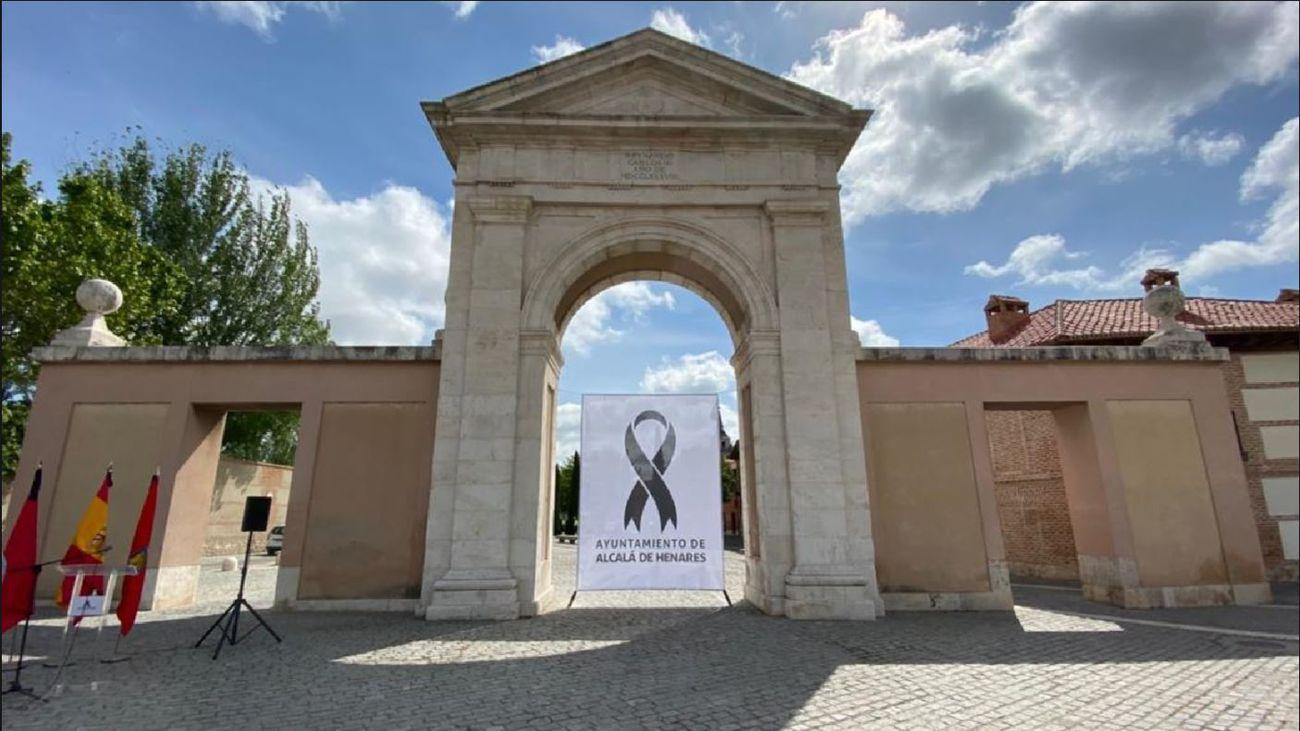 Homenaje en Alcalá de Henares