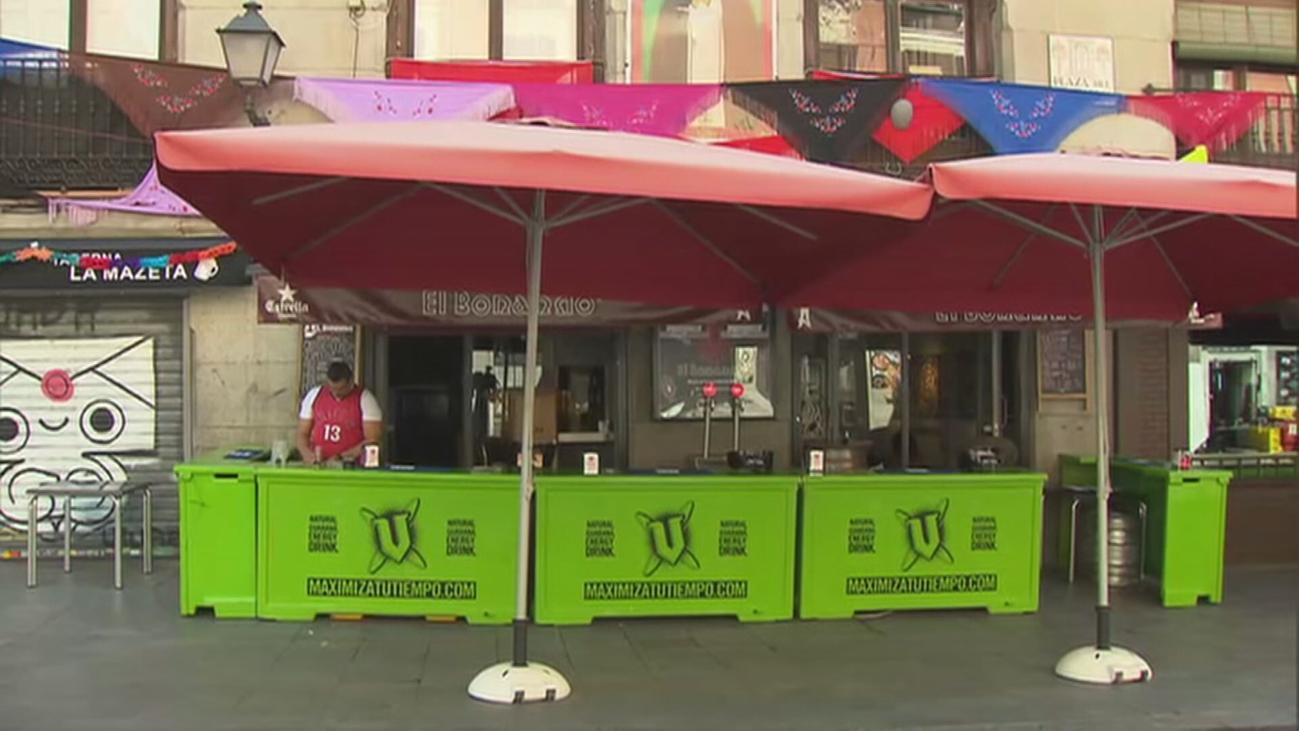 """Madrid podría sacar las """"barras a la calle"""" para los bares sin terraza en la fase 2"""