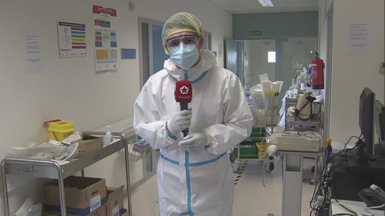 Telemadrid entra en la UCI del Hospital Infanta Sofía