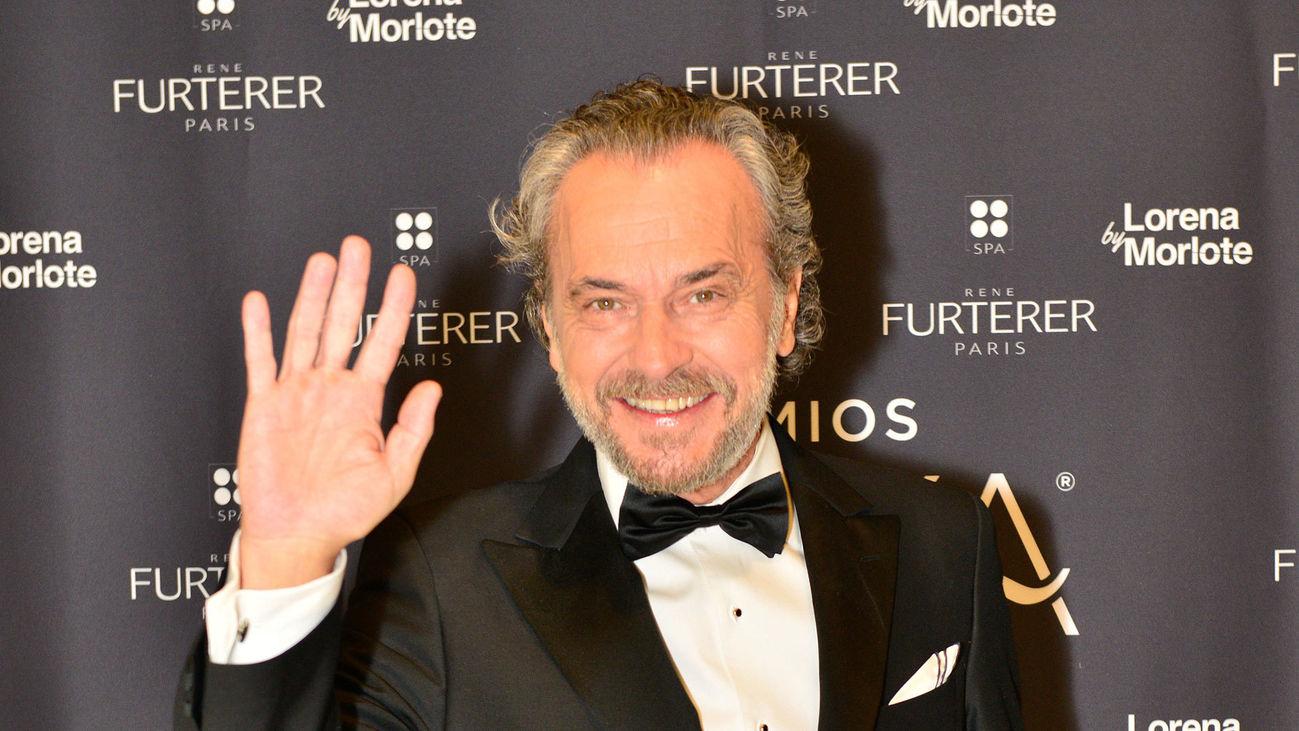 El actor José Coronando, en la gala de la XXIV edición de los Premios Goya