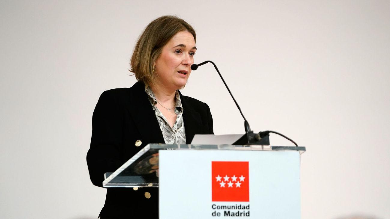 La consejera de Cultura y Turismo de la Comunidad de Madrid, Marta Rivera de la Cruz