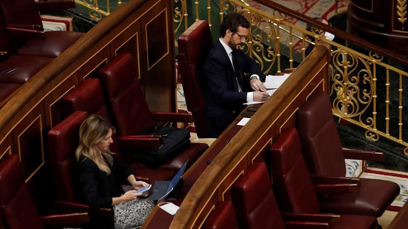 El PP se abstendrá en la votación sobre el estado de alarma y Vox plantea una moción de censura contra Sánchez