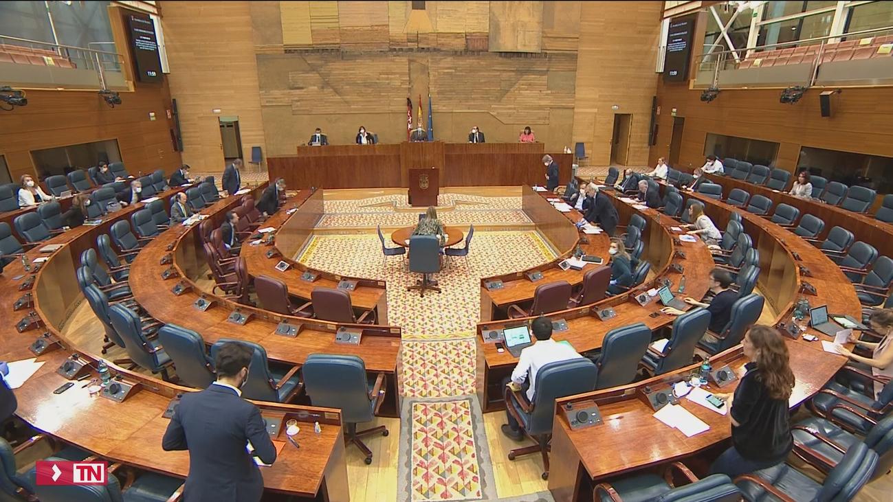 Búsqueda de diálogo y acuerdo en un pleno de la Asamblea de Madrid marcado por el coronavirus