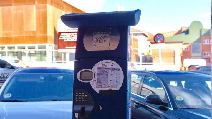 El parquímetro será gratuito desde el domingo hasta el  miércoles por el festivo  y las elecciones