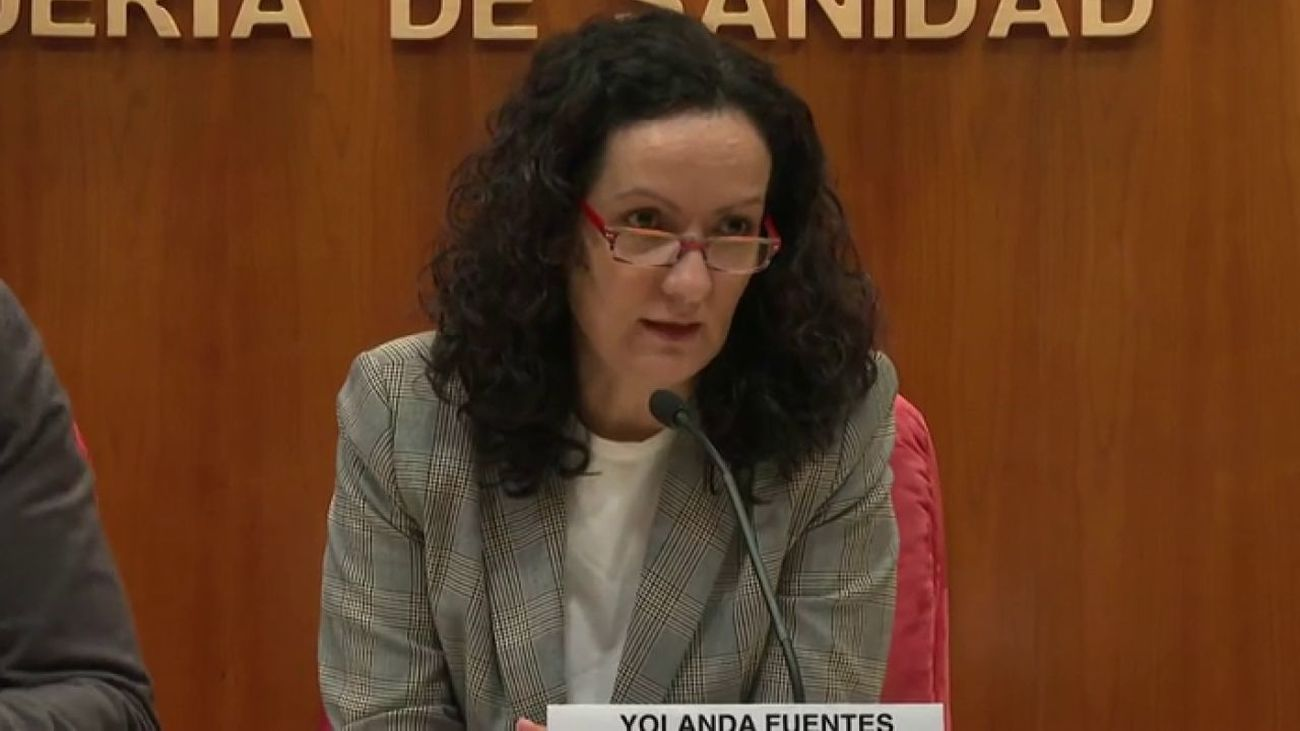 La exdirectora de Salud Pública de Madrid, Yolanda Fuentes