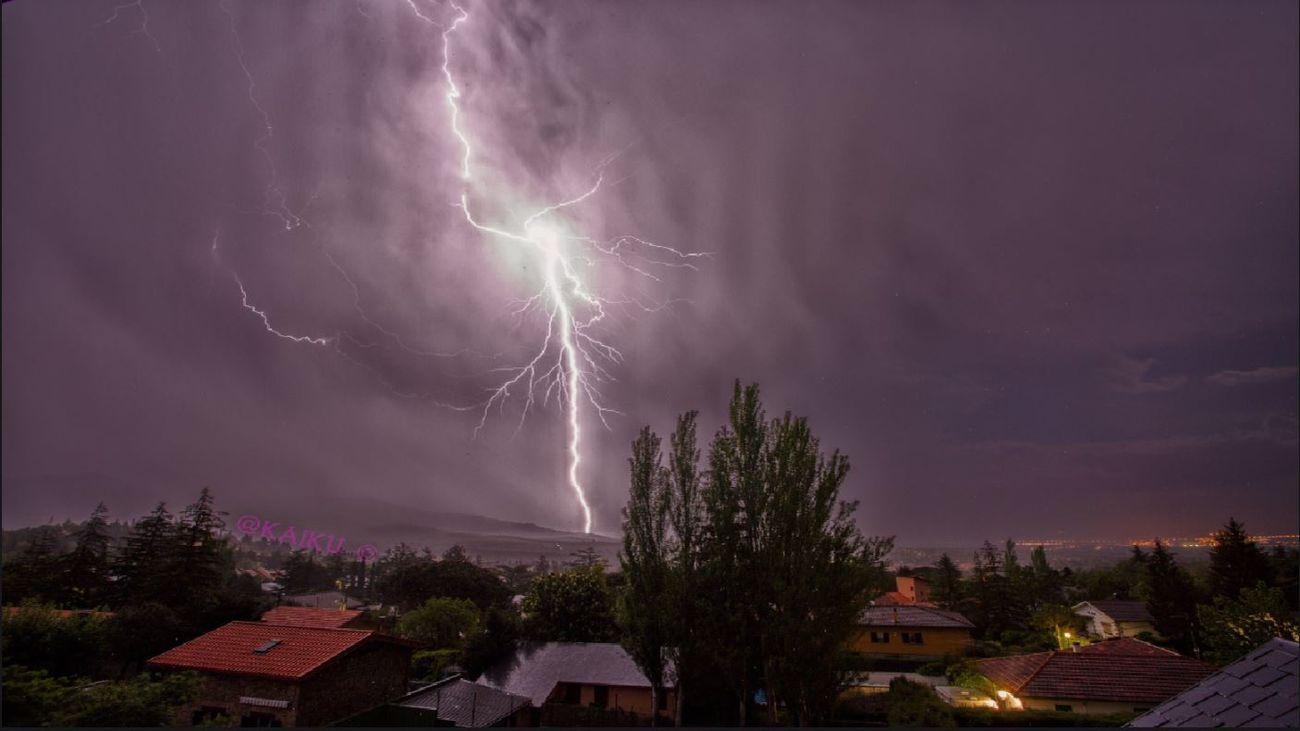 ¿Qué hacer si nos sorprende una tormenta?