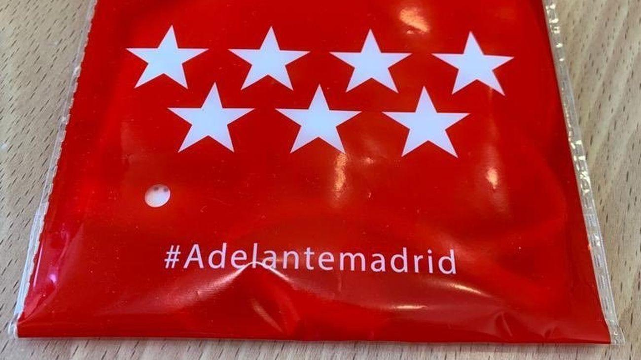 Mascarillas que se repartirán a partir del lunes en Madrid