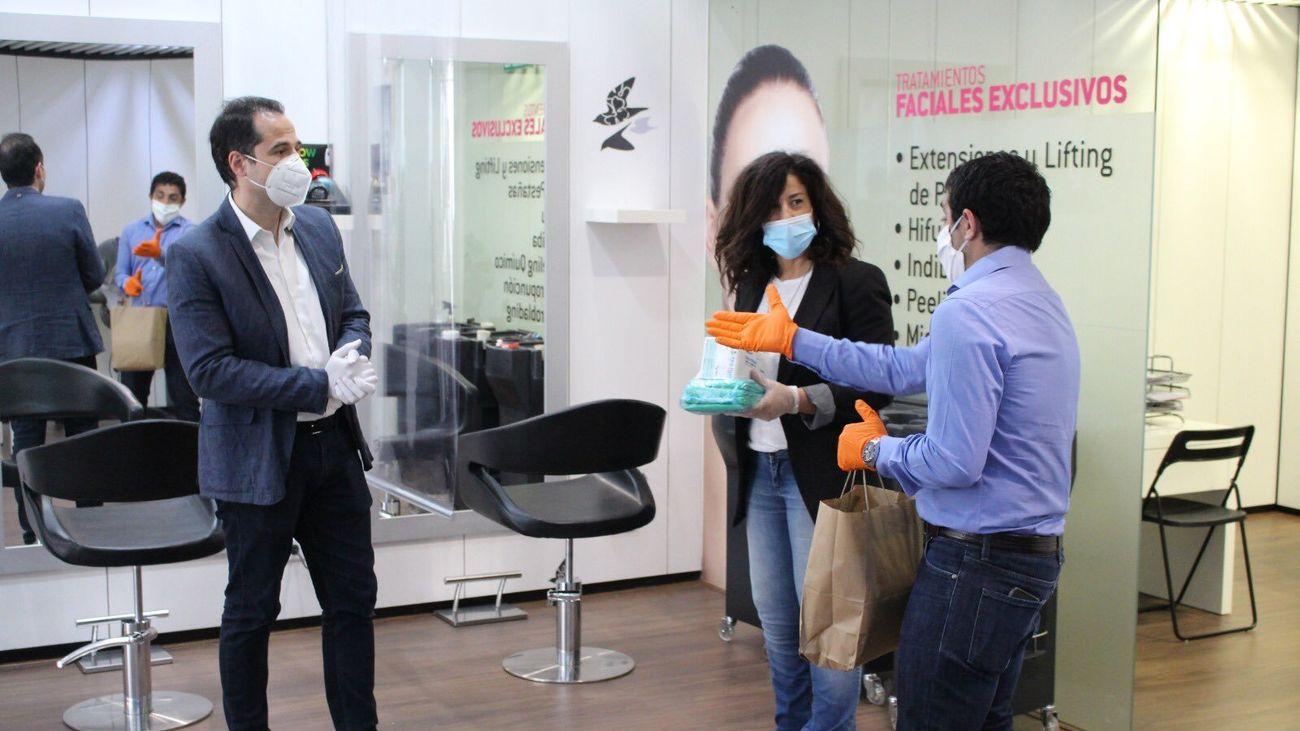 """Aguado: """"El Gobierno de España debería hacer obligatorio el uso de mascarillas"""""""
