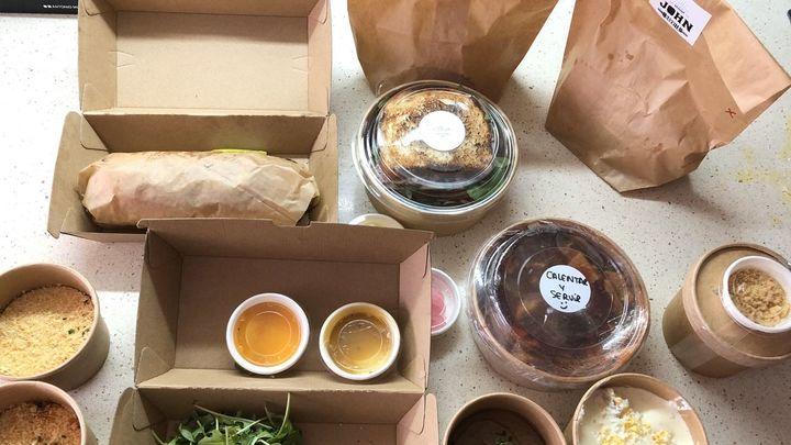 Estrellas michelín se lanzan a la comida a domicilio para sortear la crisis