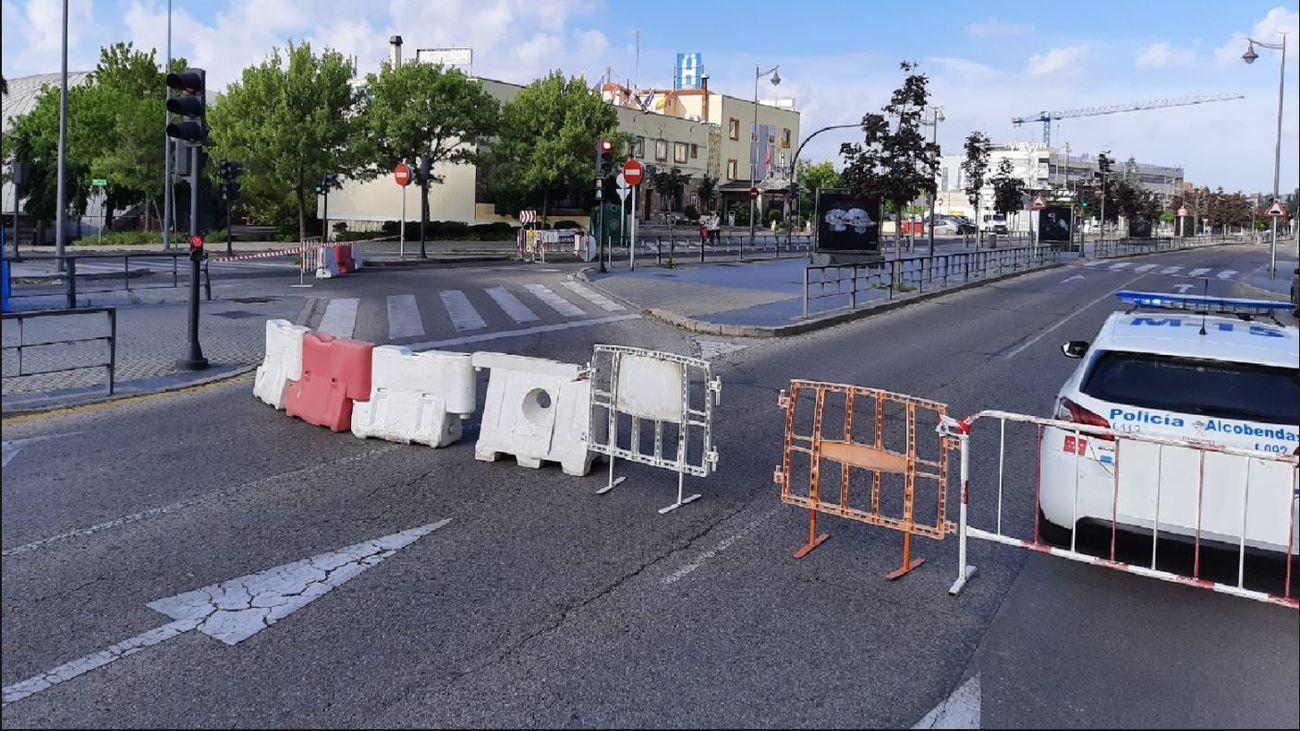 Peatonalización de las calles de Alcobendas
