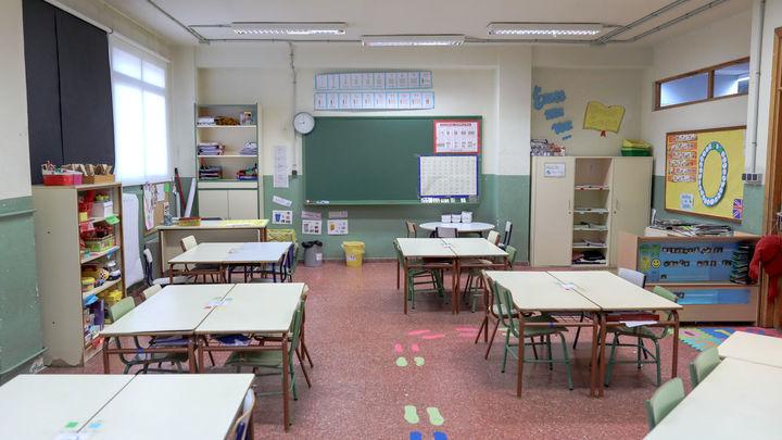 Educación crea una comisión para analizar la vuelta al cole de septiembre