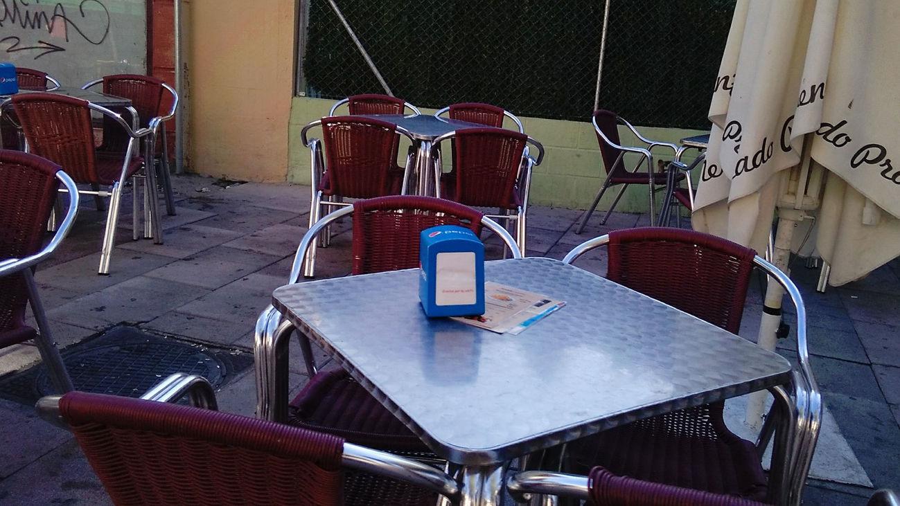 Los bares y restaurantes preparan las terrazas de cara a la fase 1 de la desescalada