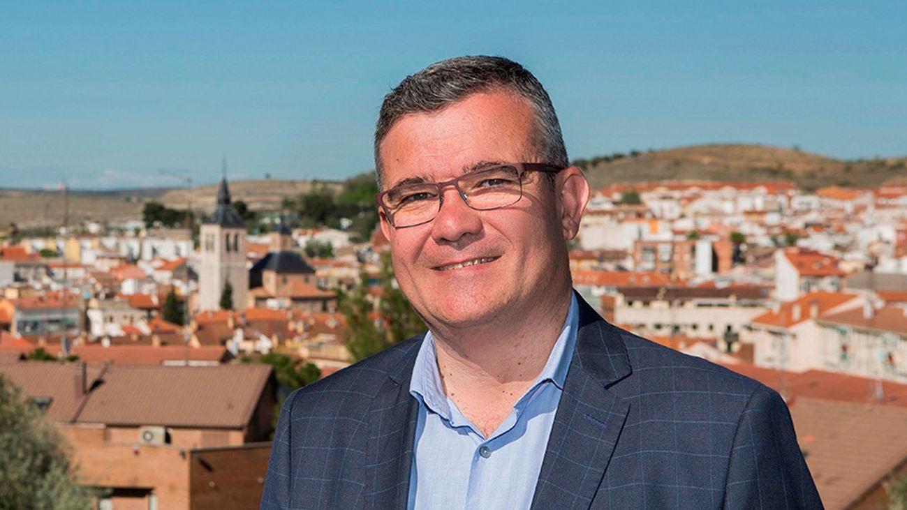 Guillero Hita, alcalde de Arganda del Rey y presidente de la Federación Madrileña de Municipios (FMM)