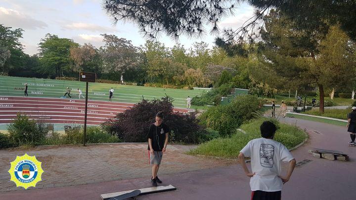 Clausuran el skatepark de Alcorcón por las aglomeraciones