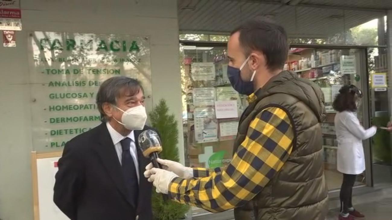Balance del primer día de entrega de mascarillas FFP2 en farmacias de Madrid