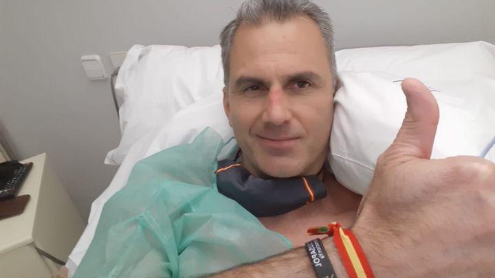 Ortega Smith, ingresado en urgencias por varias secuelas provocadas por el coronavirus