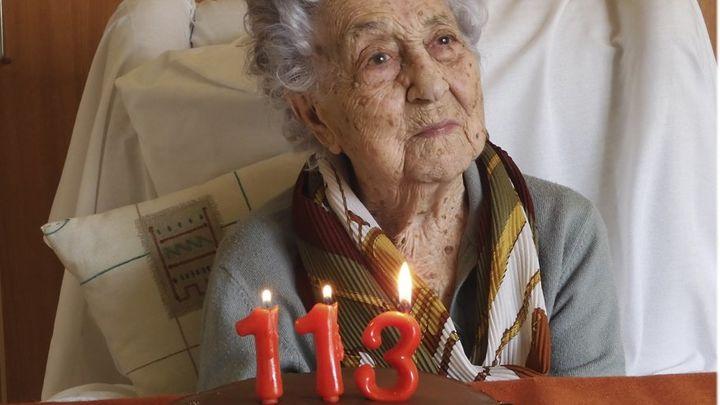 María gana, a sus 113 años, la batalla al coronavirus