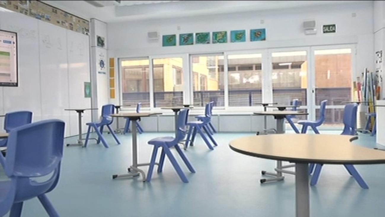 Así serán las aulas de los colegios a partir de ahora