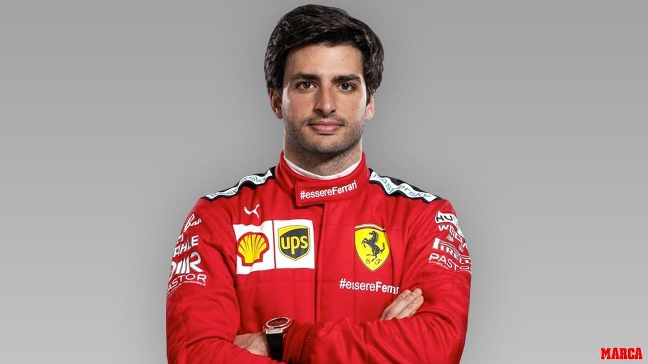 Carlos Sainz será piloto de Ferrari en 2021