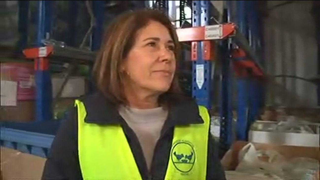 Gema Escrivá, directora del Banco de Alimentos de Madrid