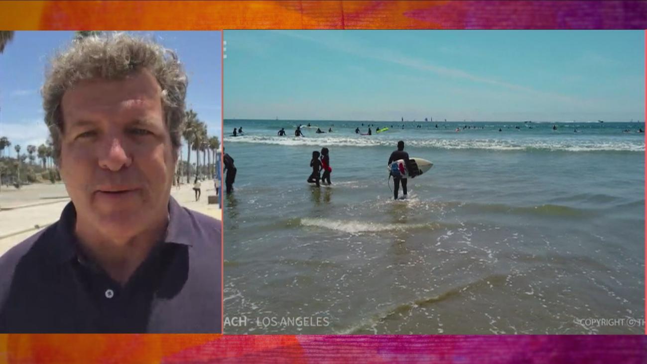 """Mario Picazo nos descubre la """"marea roja"""" de las playas de California"""
