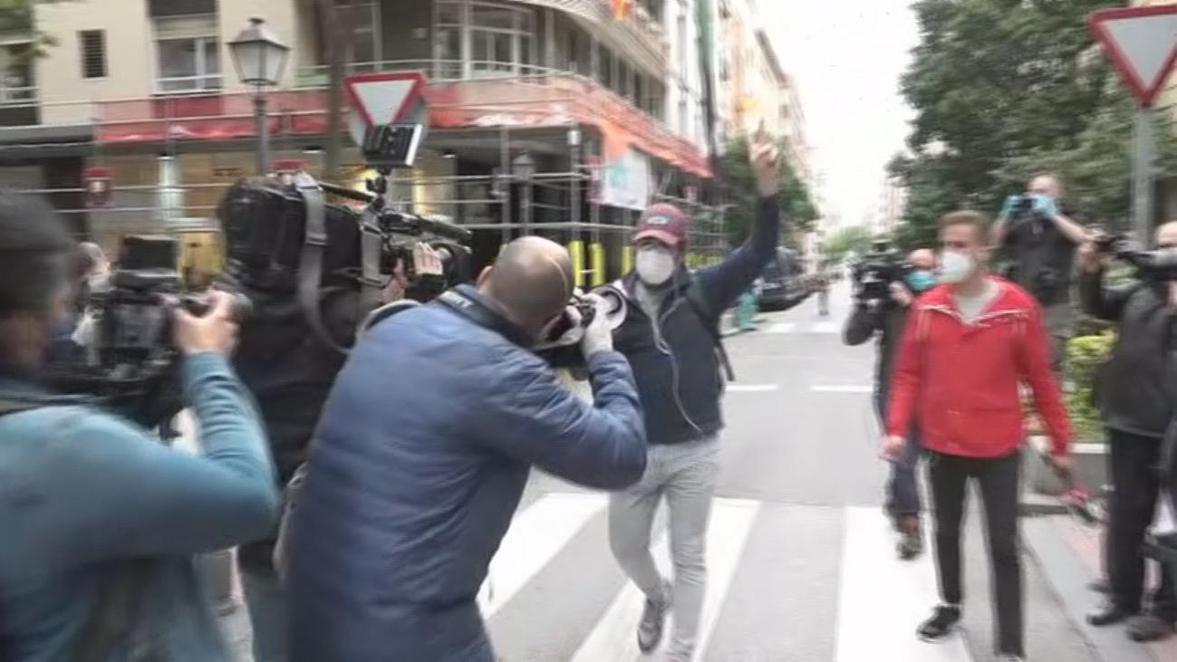 Polémica protesta en el Barrio de Salamanca
