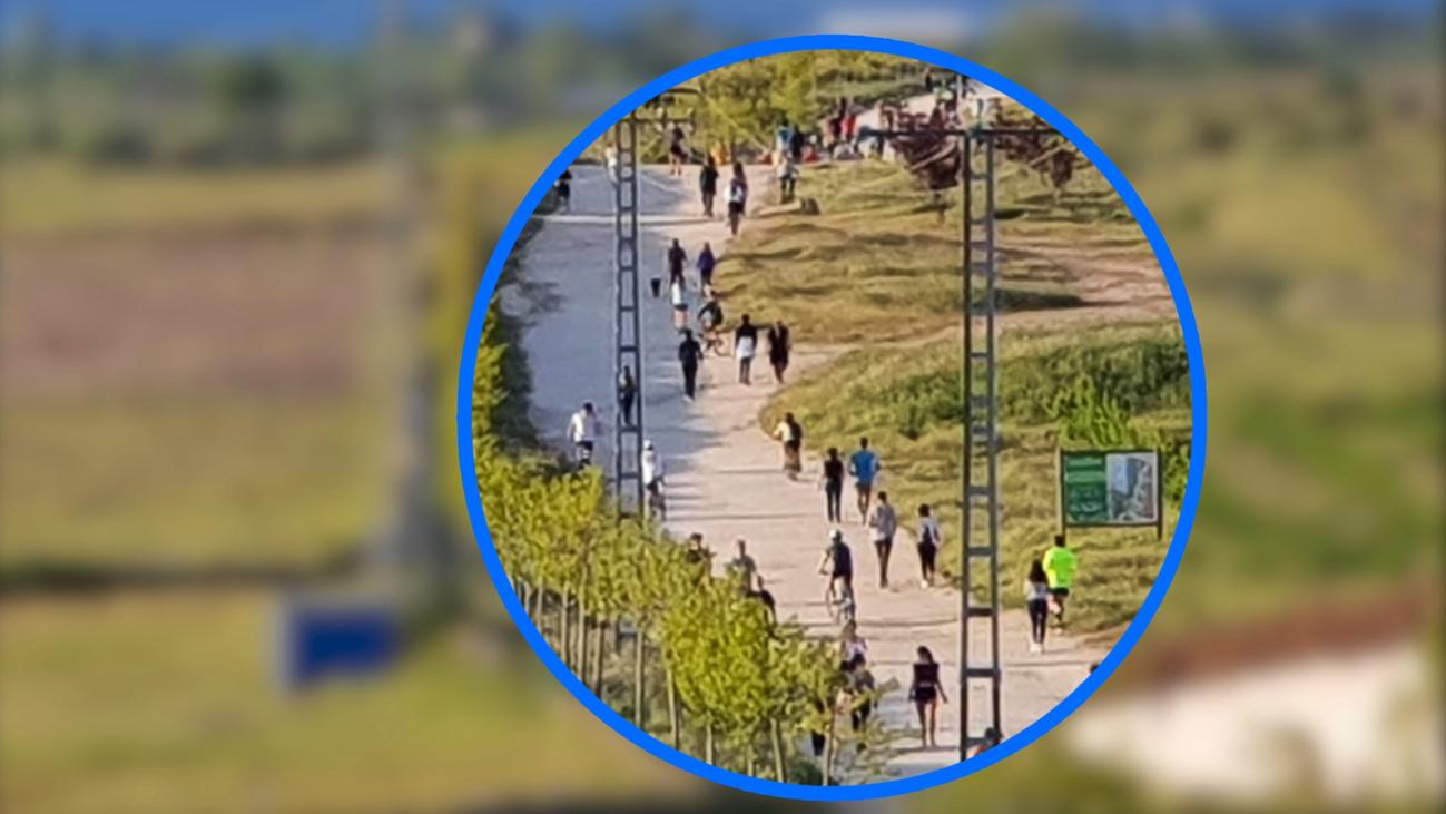 El alcalde de Colmenar, desesperado por el descontrol de los paseos
