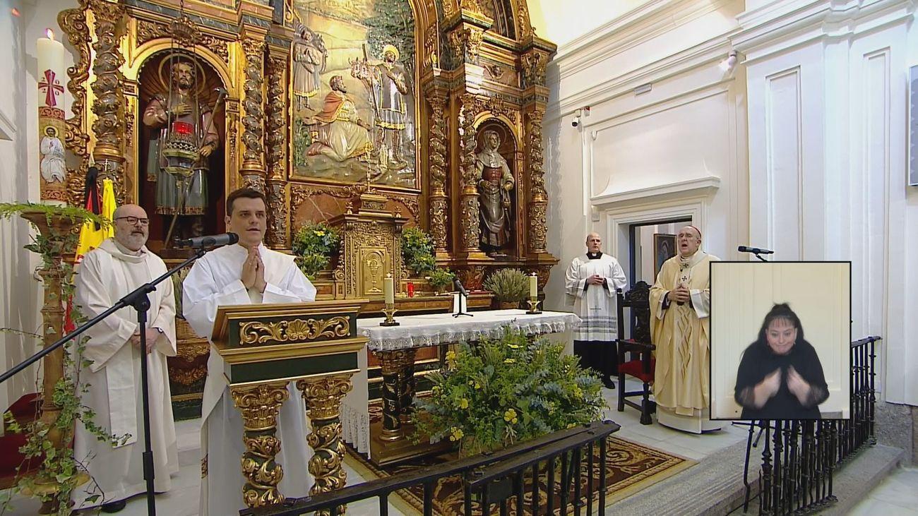 Celebración de la misa de San Isidro 2020