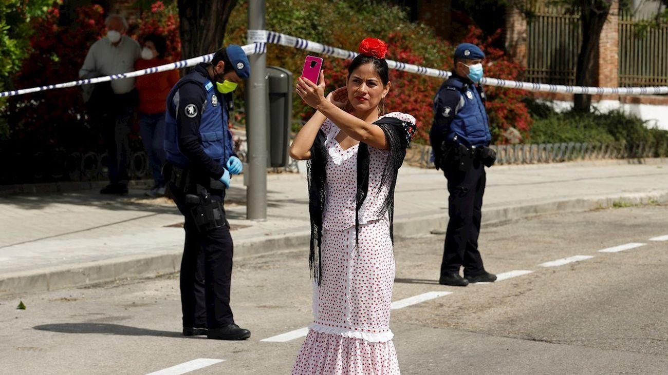 San Isidro sin verbena en Madrid, pero sí con colas para venerar al santo en la ermita