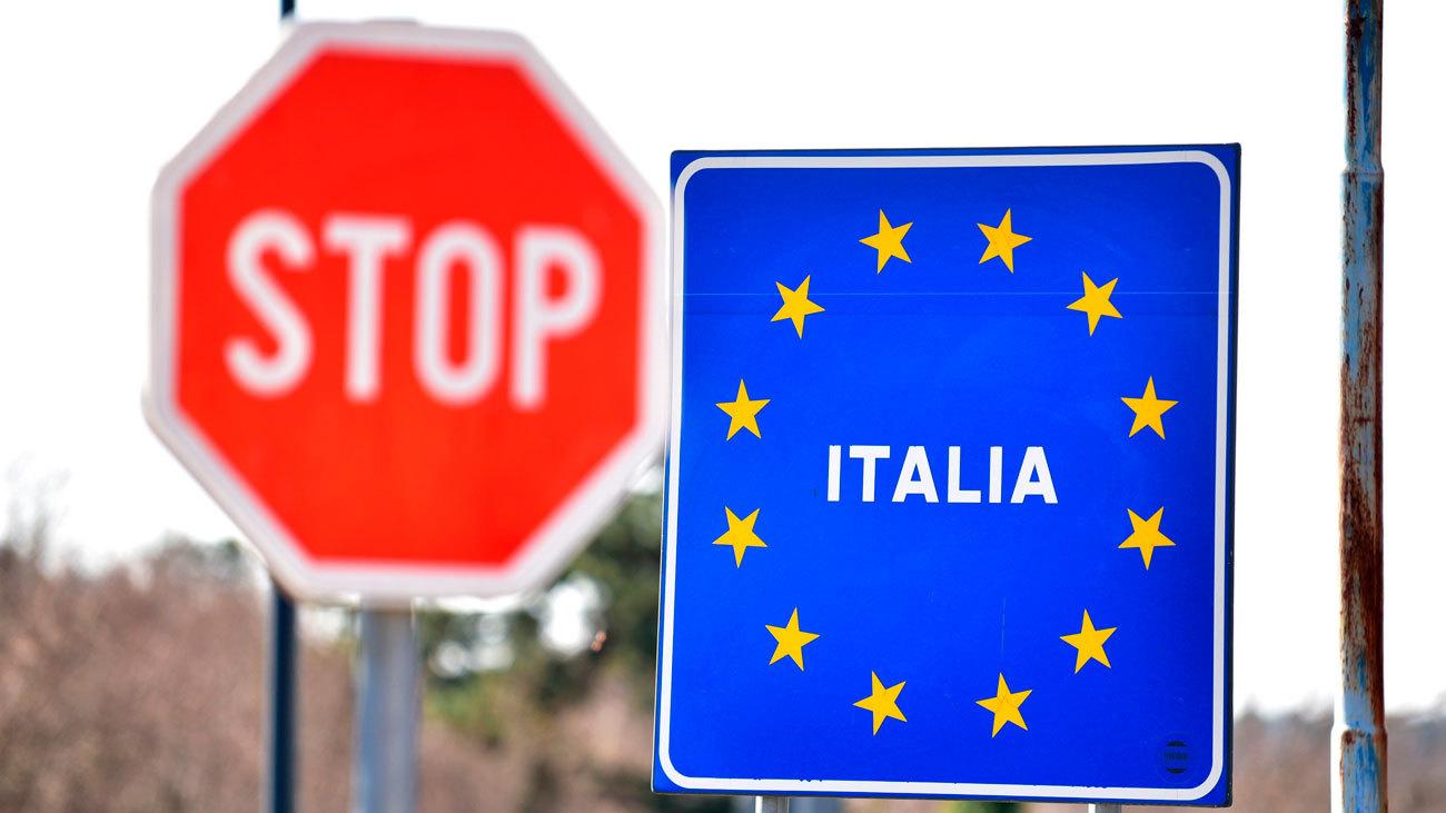 Italia reabrirá su fronteras a partir del 3 de junio con la UE